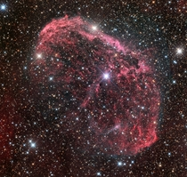 NGC  - The Crescent Nebula