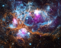 NGC  - The Lobster Nebula In Scorpius Soooo Many Amazing Colors
