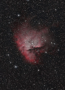 NGC  The Pac-Man Nebula