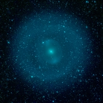 NGC  viewed by Spitzer