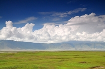 Ngorongoro Crater Tanzania Spectacular setting for the big