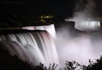 Niagara Falls at midnight Follow lazy_shutterbug on Instagram for more content