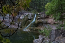 Nice Little Waterfall in Tonto National Forest Arizona