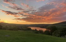 Nidderdale North Yorkshire View from my house No filter needed but sadly a photo never captures the true colours