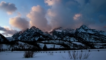Night Approaches in Grand Teton National Park