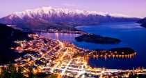 Night in Queenstown New Zealand