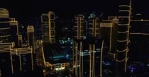 Night Lights at Rockwell Center Makati City Metro Manila Philippines x