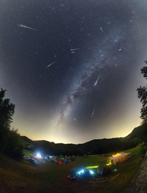 Night of the Perseids