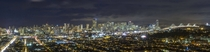 Night panorama San Francisco from Bernal Hill  x-post from rsanfrancisco