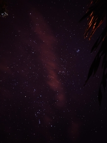 Night sky in Cabo Rojo Puerto Rico Attempt at mobile astrophotography