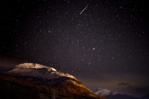 Night Sky Over Glen Nevis Scotland  howlingyetis