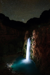 Night time Oasis Havasu Falls