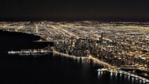 Nightime Chicago -