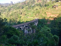 Nine Arch Bridge Sri Lanka built in