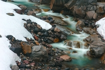 Nisqually River in Mount Rainer National Park - April th