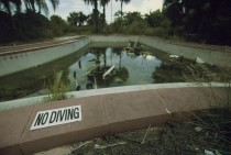 No Diving - Swimming Pool at Abandoned Hotel in FL  Album in Comments