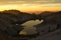 No editing just an amazing sunset in the thin thin Sierra Nevada air Emigrant Wilderness CA seanaimages