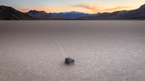 No fancy back story Just a long drive and a lot of patience Racetrack Playa in Death Valley