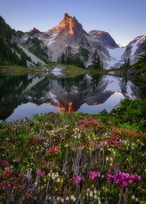No Name Lake in the Alpine Lakes Wilderness of Washington  Photo by Bryan Swan
