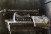 No one present to type Photo by Andrea Pesce