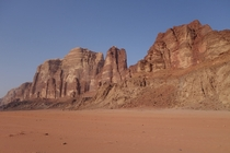 No wonder the desert of Wadi Rum Jordan was used in films like The Martian