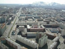 Norilsk an industrial city in Siberia Russia