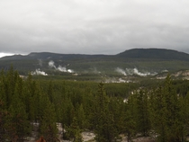 Norris Geyser Basin Yellowstone National Park  OC