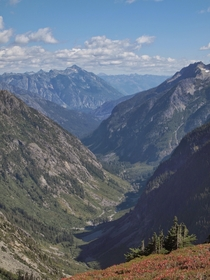 North Cascades National Park in the summer