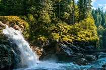 North Cascades Waterfall   X