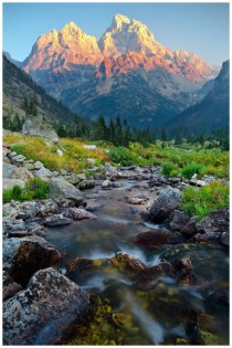 North Fork Cascade Canyon Grand Teton National Park Wyoming