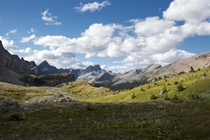 North Molar Pass Alberta