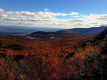 North Point Catskill Mountains of New York   x