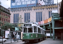 North Station and the Old Boston Garden Boston MA x