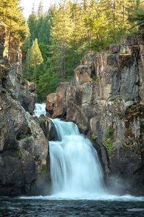 Northern California is totally underrated - Upper McCloud Falls