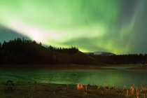 Northern Lights Over Ear Lake Canada