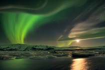Northern Lights over Iceland by Stephanie Vetter