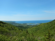 Northern tip of Cape Breton Island