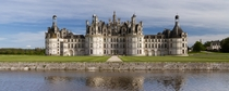 Northwest faade of Chteau de Chambord located in the Loire Valley France