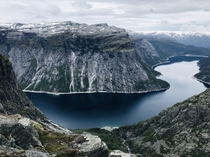 Norway Hike to the Trolltunga x