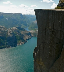 Norway itll leave you pining for the fjords Preikestolen