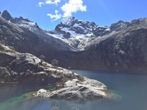 Not a great photographer but with scenery like this its hard to be bad Lake Churup Peru x