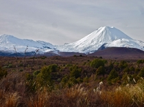 Not a Hobbit in sight Tongariro National Park New Zealand