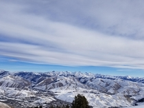 Not a Lot of Snow but Still Beautiful  - Sun Valley Idaho