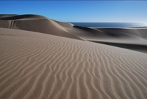 Not a Mirage Where the Namib Desert meets the sea  Photo by John Dera