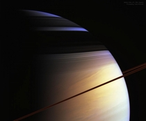 Not even the imagination could create something like that The colours of Saturn from Cassini credit NASA ESA JPL ISS and Cassini Imaging Team