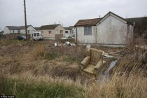 Not exactly abandoned but you wouldnt guess that by looking at it Welcome to Jaywick Englands most deprived village