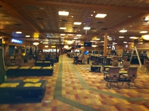 Not exactly abandoned quite yet but empty casinos are eery as hell