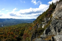 Not much can beat fall views View from Mt Megunticook in Camden Maine