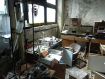 Not really high quality but a room in the abandoned factory in Belgrade Serbia