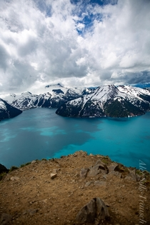 Not Reddit Lake but arguably just as beautiful and maybe even more so Panorama Ridge British Columbia  OC IGuofalec